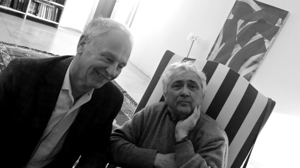 Peter Femfert and Alain Clément in Nimes