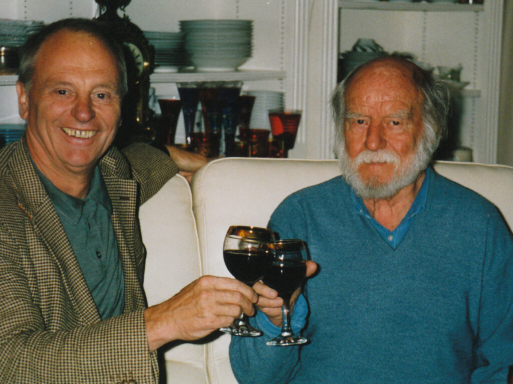 Peter Femfert and Corneille in 2004