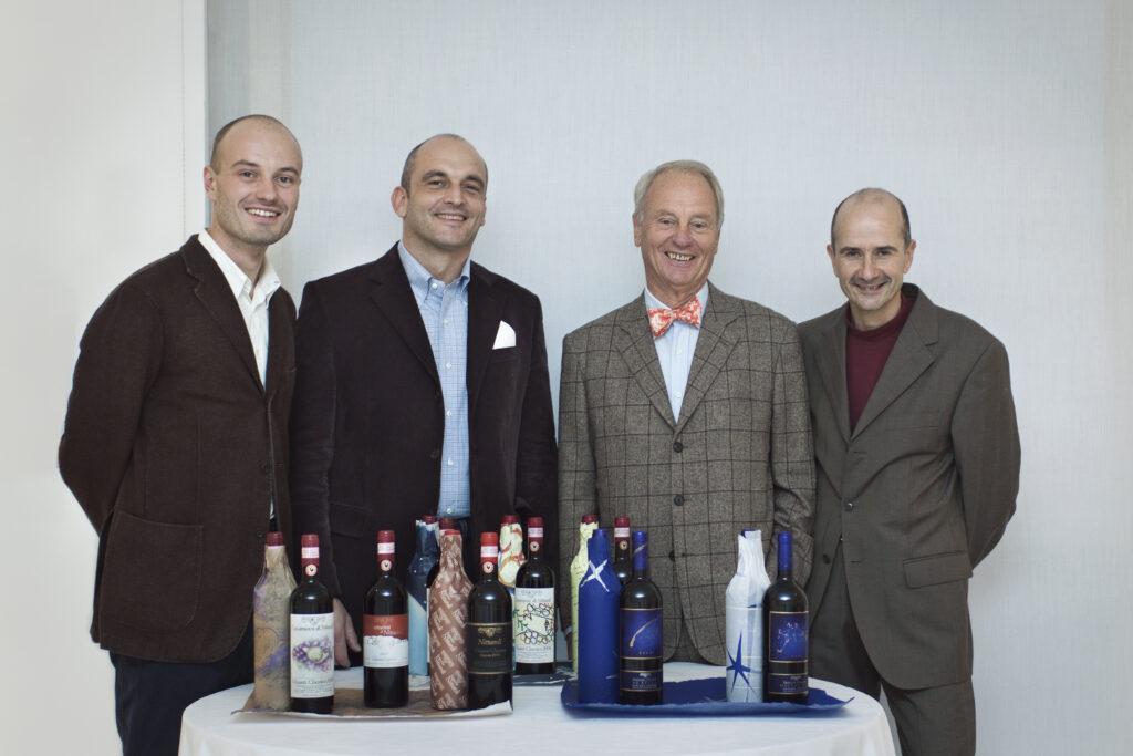 Team Nittardi Leon, Antonio, Peter, Giorgio